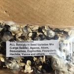 ALL Succulent Seed Varieties Mix (Large Succulent Seeds)-ALL Succulent Seed Varieties Mix (Large Succulent Seeds)